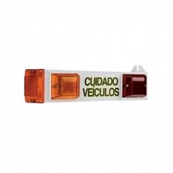 Sinalizador de Garagem LED TECHNA Bivolt SI003 Branco