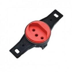 Tomada 2P+T S/P B-LUX 10A Vermelho 9891-4