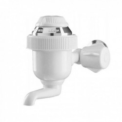 Torneira Elétrica Sintex 3T 220V 4400W Branco/Cromado