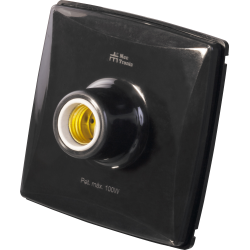 Plafon Mec Tronic PETRA 30130 - Preto
