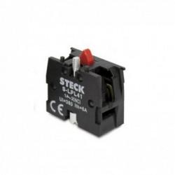 Bloco de Contato STECK (FECHADO) NF S-LPL 41 Vermelho
