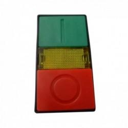 Botão p/ Comando STECK 22MM Duplo Luminoso S-PDL