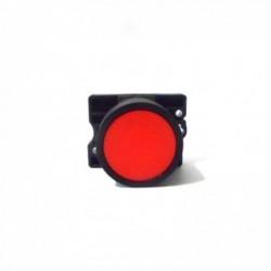 Botão p/ Comando STECK Impulso 22MM S-PRN1 Vermelho (NA)