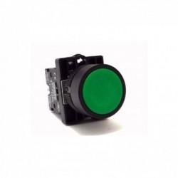 Botão p/ Comando STECK Impulso 22MM S-PRN2 Verde