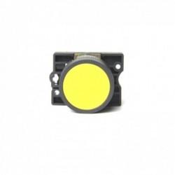 Botão p/ Comando STECK Impulso 22MM S-PRN3 Amarelo