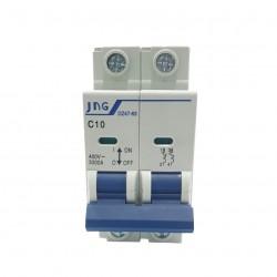 Disjuntor JNG Bipolar 10A (C)