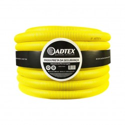 """Conduíte Corrugado Adtex Amarelo (C) 1"""" 32MM"""