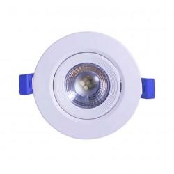 Spot LED Embutir Redondo 5W 3000K - LED BEE