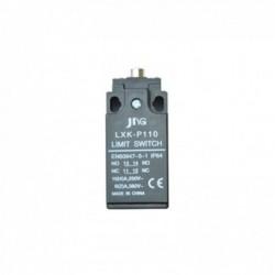 Chave Fim de Curso JNG CRP Plastico 1NA+1NF LXK-P110 Pistão Metálico Simples/Curto 1 Entrada