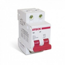 Disjuntor STECK Bipolar 80A (C)