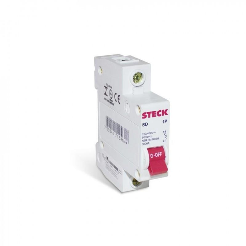 Disjuntor STECK Unipolar 10A (C)