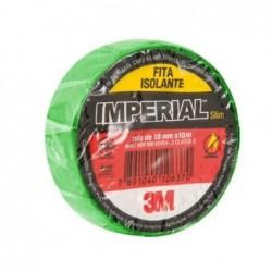 Fita Isolante 3M IMPERIAL 10M Verde