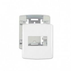 Linha Siena Fácil 6339 Caixa + Placa 1 Modulo Branco