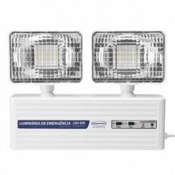 Luminária de Emergência SEGURIMAX LED 400LM 2 faróis