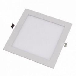 Luminária Painel de LED Embutir Quadrado 12W 3200K