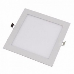 Luminária Painel de LED Embutir Quadrado 18W 6500K