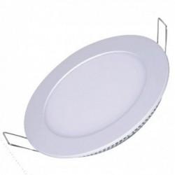 Luminária Painel de LED Embutir Redondo 03W 6500K
