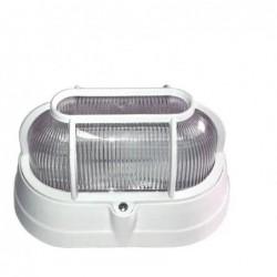 Luminária Tartaruga Oval Branca