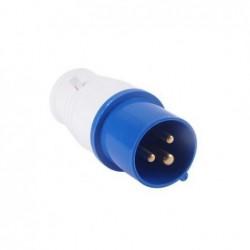 Plug Industrial JNG 2P+T 32A 220V Azul REF023