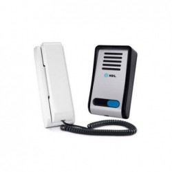 Porteiro Eletrônico HDL F8-S Aluminio com Interfone AZ-S